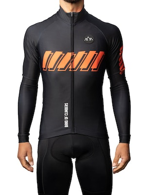 Band of Climbers ThermoAscent Long Sleeve Jersey - Black