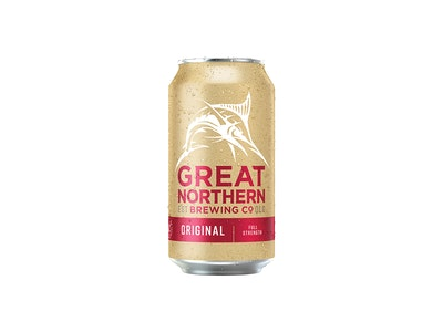 Great Northern Original Lager Can 375mL