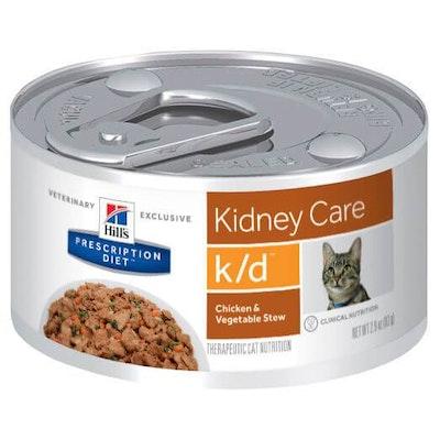 Hills Hill's Prescription Diet K/D Kidney Care Chicken & Vegetable Stew Wet Cat Food
