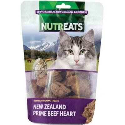 NUTREATS New Zealand Prime Beef Heart Cat Treats 50G