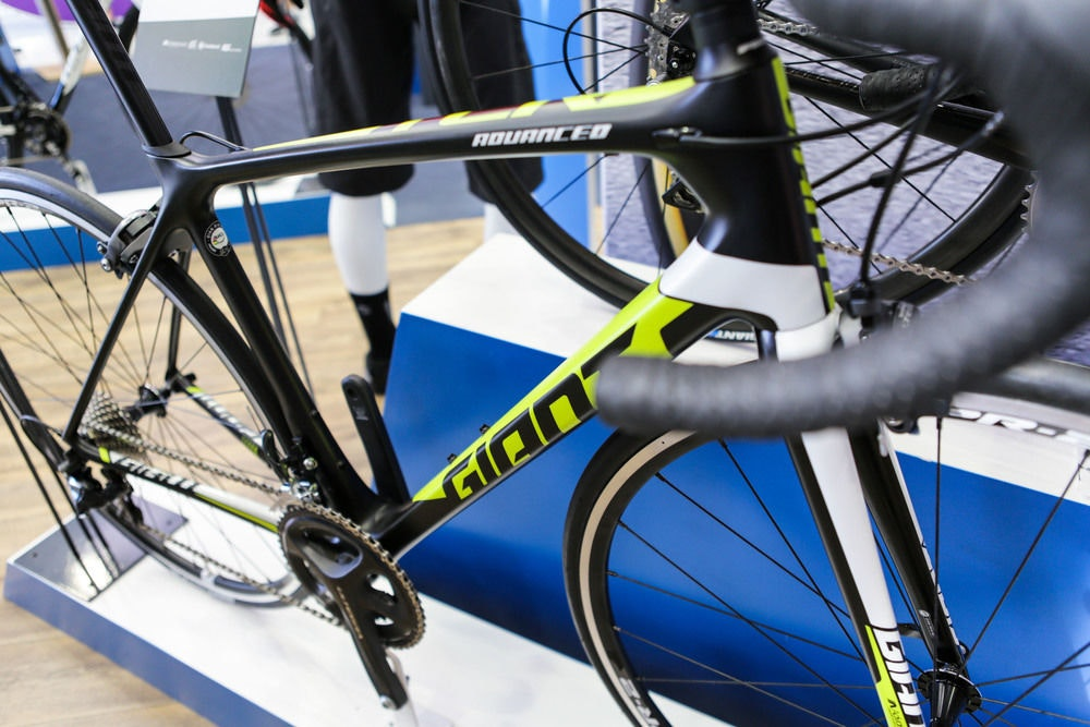 fullpage Giant tcr advanced 2016 down tube