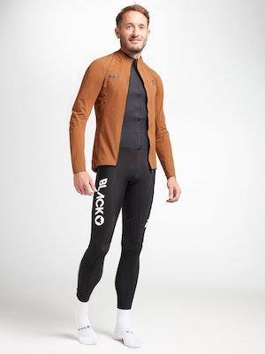 Black Sheep Cycling Men's Elements Micro Jacket - Brown