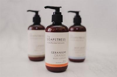 Castile Hand and Body Wash - Geranium & Orange