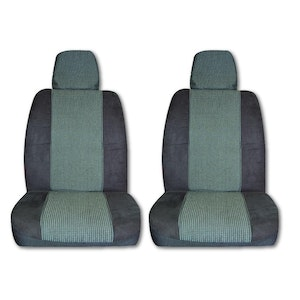 Seat Covers For Mitsubishi Triton Fronts 07/2006-2020 Grey Single-Cab