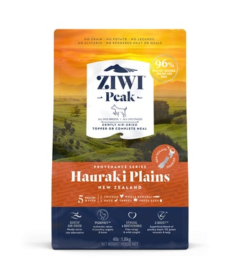 ZiwiPeak Air Dried Provenance Hauraki Plains Dry Dog Food