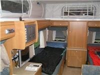 Comfortable single bunks in GoSee Jayco Discovery