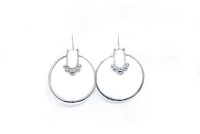 CocoKanela Nakbe Laarge hoop earrings