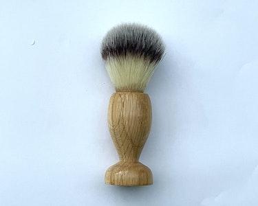 Shaving brush oak synthetic badger Hair