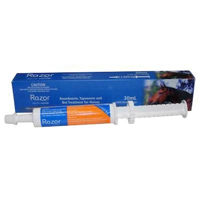 Virbac Axon Razor Equine Horse Broad Spectrum Wormer Paste 30ml