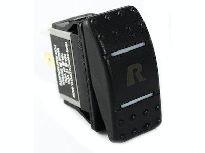 RAM-SWITCH-DPDTL-MOM :: RAM DPDT Mom Rocker Switch With Light