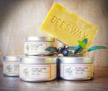 Lil'Bit Better Warm Spice Beeswax Leather/Wood Conditioner 250g