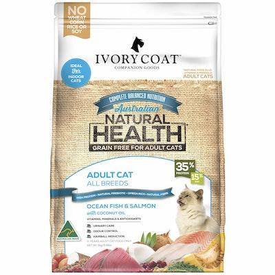 IVORY COAT Grain Free Adult Ocean Fish & Salmon Dry Cat Food