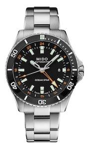Mido Ocean Star GMT - Stainless Steel and Ceramic Bezel - Stainless Steel Bracelet