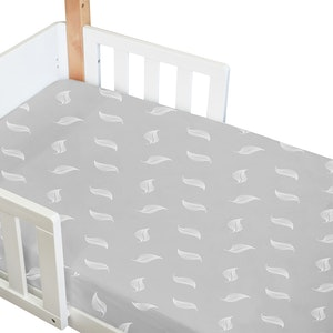 Babyhood Amani Bebe Organic Standard Fitted Sheet