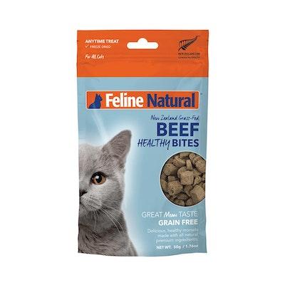 FELINE NATURAL Beef Healthy Bites 50G