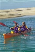 Paddling partners  Awaroa  Courtesy Latitude Nelson