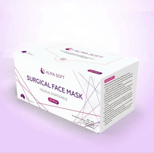 SoftMed SURGICAL FACE MASK (Blue)