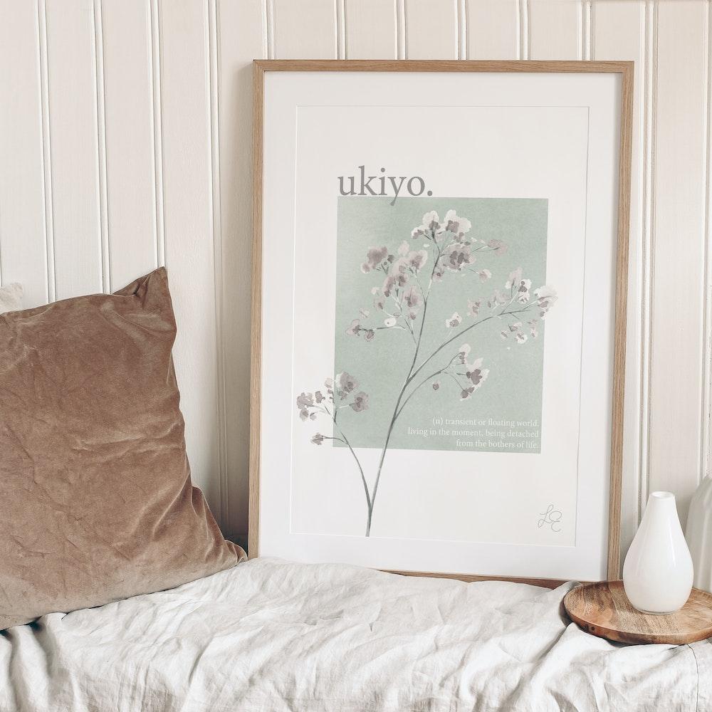Laura Elizabeth Illustrations Ukiyo Fine Art Print