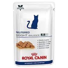 Royal Canin VET Neutered Weight Balance Pouch Wet Cat Food 100G