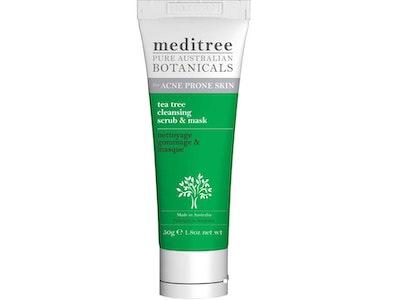 Meditree tea tree face scrub & mask with kaolin clay 50g
