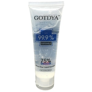 Safe Home Care GOTDYA Hand Sanitiser 80ml 75% Alcohol Disinfectant Antibacterial