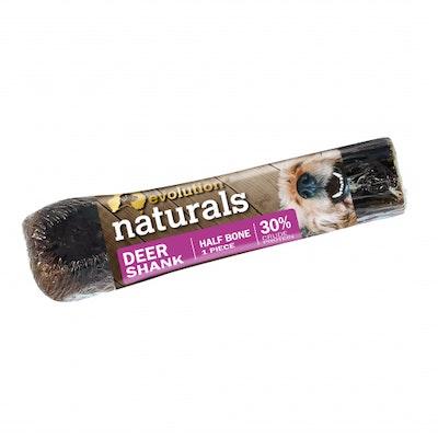 EVOLUTION NATURALS Deer Shank Dog Treat Half
