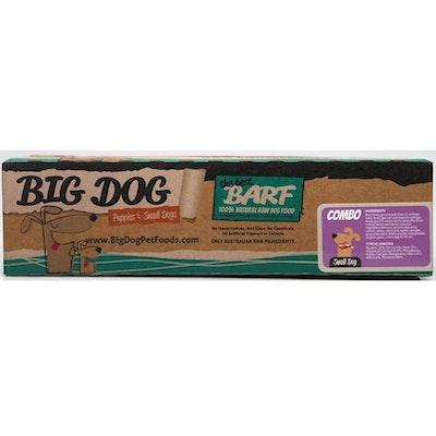 Big Dog BARF Small Dog Frozen Raw Dog Food 1.5kg