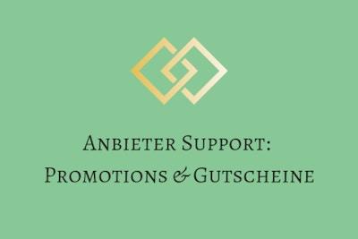 Anleitung - Promotions & Gutscheine