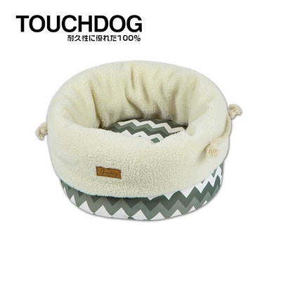 TOUCHDOG Snowflake Premium Designer Jute Bag Nest - Grey