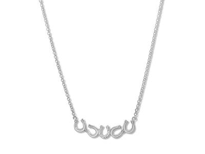Breeze Horseshoe Line Necklace