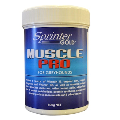 Sprinter Gold Muscle Pro Muscle Health Greyhounds Supplement - 3 Sizes