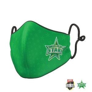 Melbourne Stars Face Mask - Big Bash League