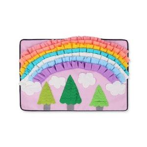 DoggyTopia Rainbow Garden Snuffle Mat