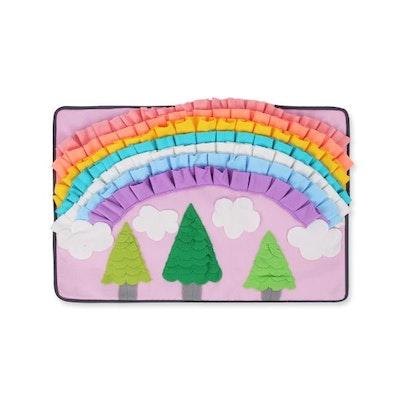 Doggy Topia Rainbow Garden Snuffle Mat