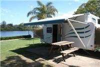 Bellinger River Jayco Expanda on-site caravan