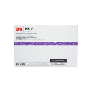 3M PPS 2.0 Spray Cup System 650ml 200 Micron Kit, 26000