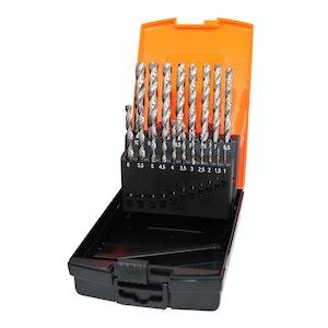 SP Tools Drill Bit Set HSS Metric 19pc 1 - 10mm