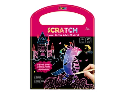 Avenir - Scratch Book - Travel to the Magical World