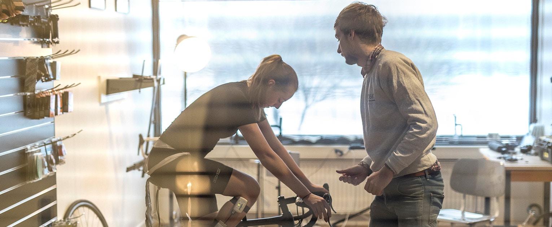 BBB - Bike fitting with Lise Visser