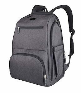 La Tasche Metro Backpack - Charcoal