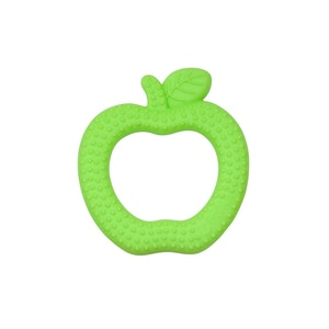 green sprouts Silicone Fruit Teether Apple