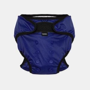 Swim Nappy + Wet Bag - Blue