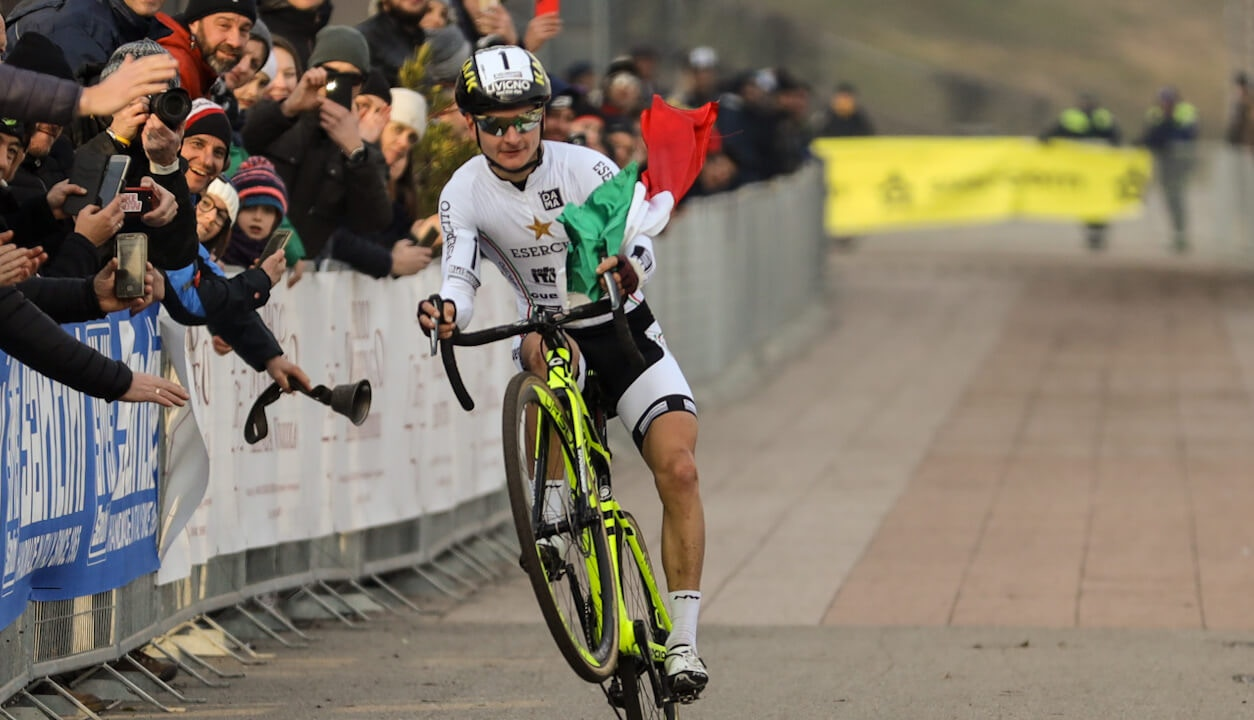 Northwave - Northwave show at CX Italian Champs as Bertolini & Lechner wear Tricolour