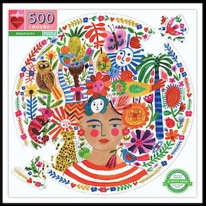 500 Piece Round Puzzles