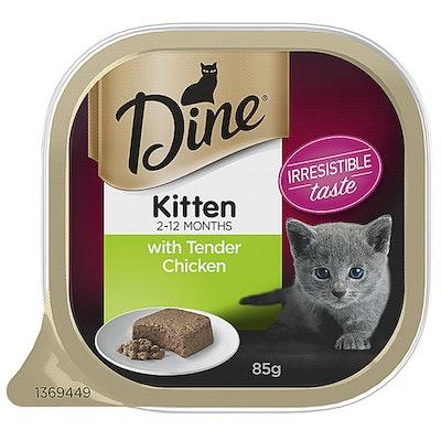 Dine Daily Tender Chicken Wet Kitten Cat Food 14 x 85g