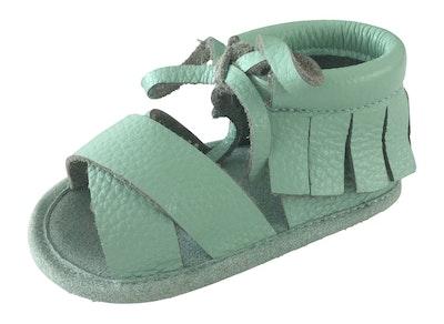 Wildchase Boho Sandals - 100% Leather - Mint