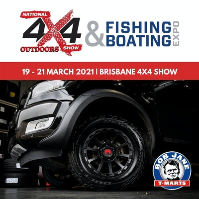 Bob Jane T-Marts at the Brisbane 4x4 Show 2021