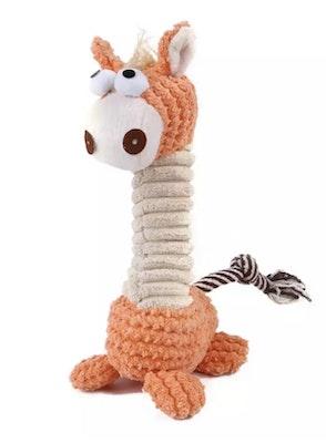The Doggie Balm Co Squeaky Giraffe Chew Toy