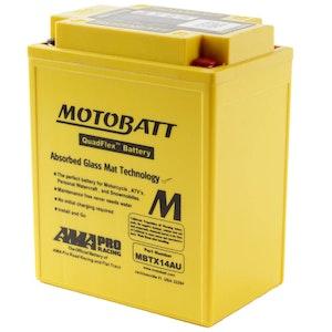 MBTX14AU MotoBatt Quadflex 12V Battery