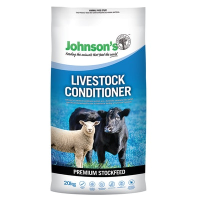 Johnson''s Johnsons Livestock Conditioner Balanced Pellets 20kg